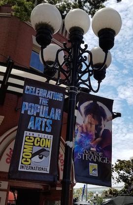 dr. strange comic con 2016