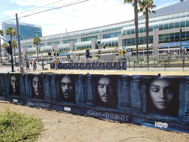 game of thrones comic con 2016