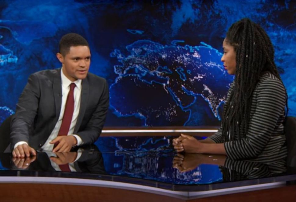 Jessica Williams Trevor Noah Daily Show