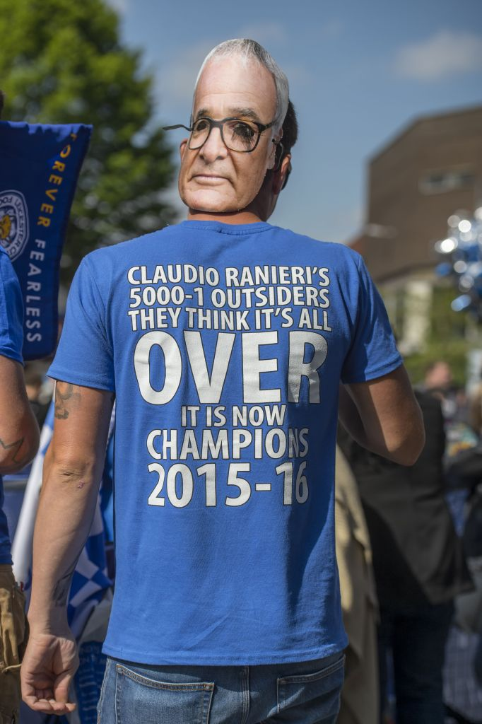 Leicester City Premier League Winners Victory Parade, Leicester, Britain - 16 May 2016