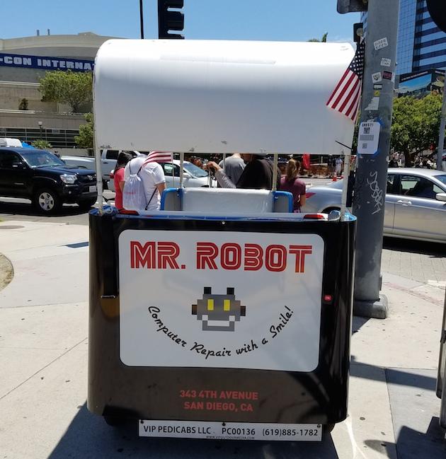 mr robot comic con 2016