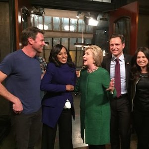 scandal cast and clinton