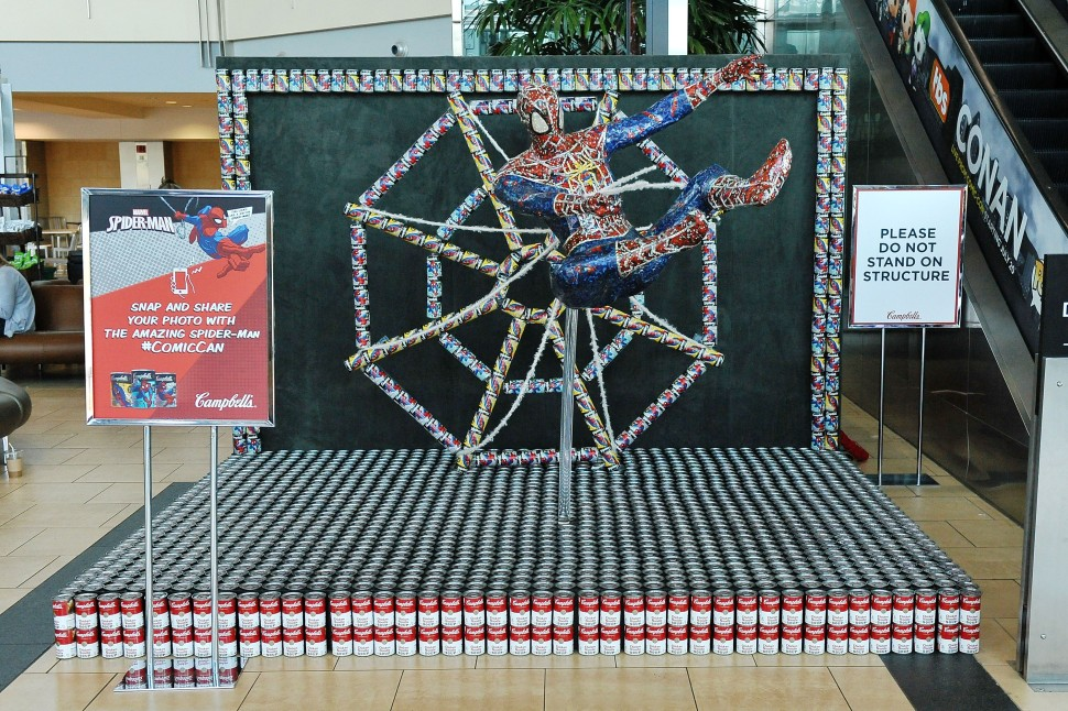 spider-man campbell soup comic-con
