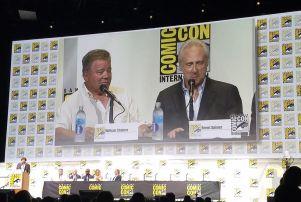 William Shatner Brent Spiner Comic Con