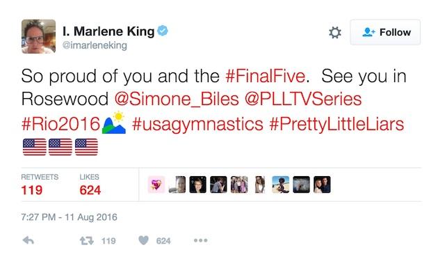 1 marlene king biles tweet copy