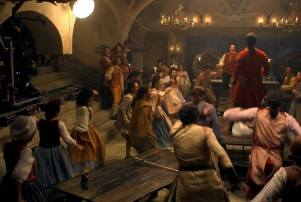 beauty and the beast b-roll