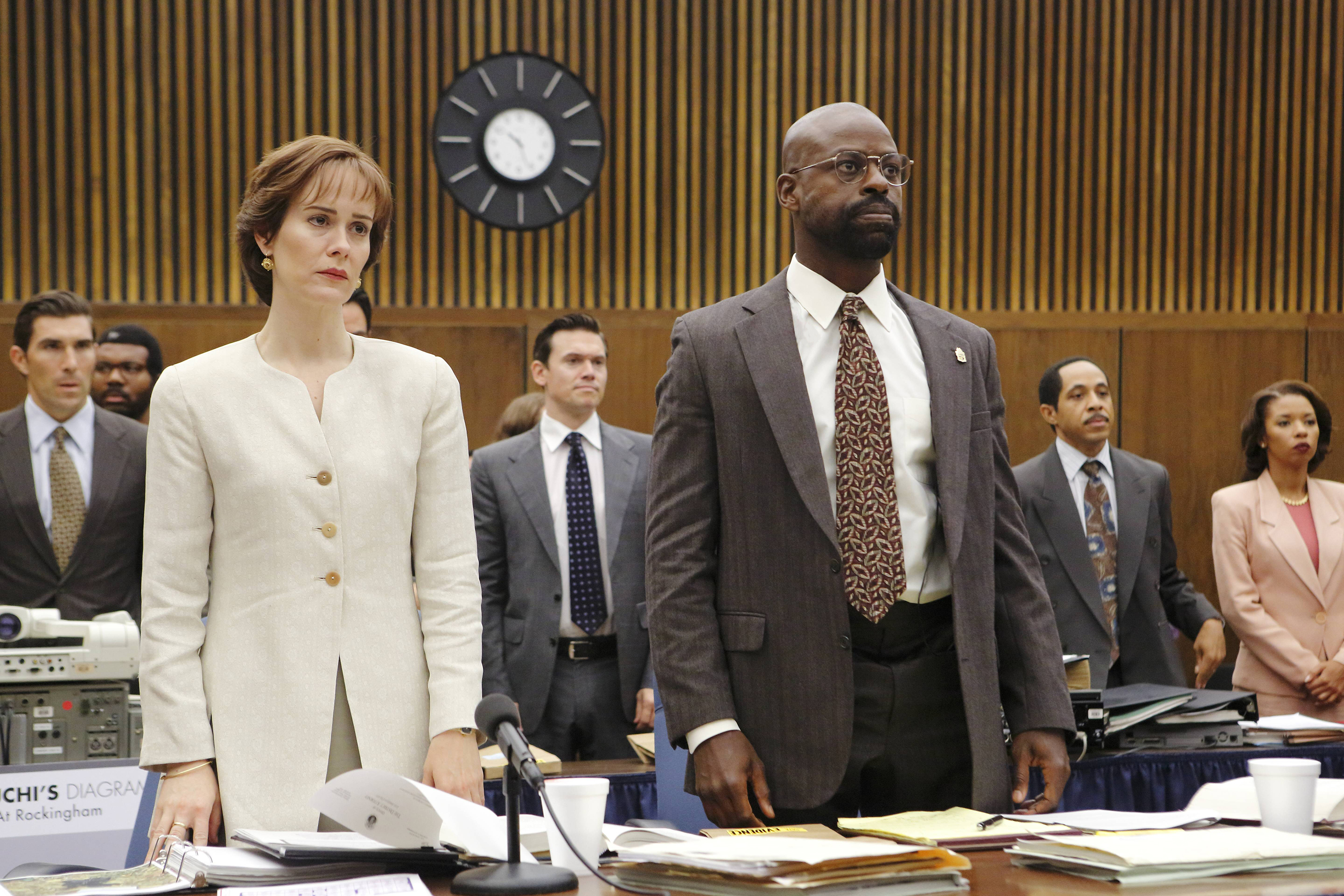 Sarah Paulson - Sterling K. Brown - The People v. O.J. Simpson