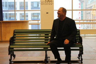 harvey on bench