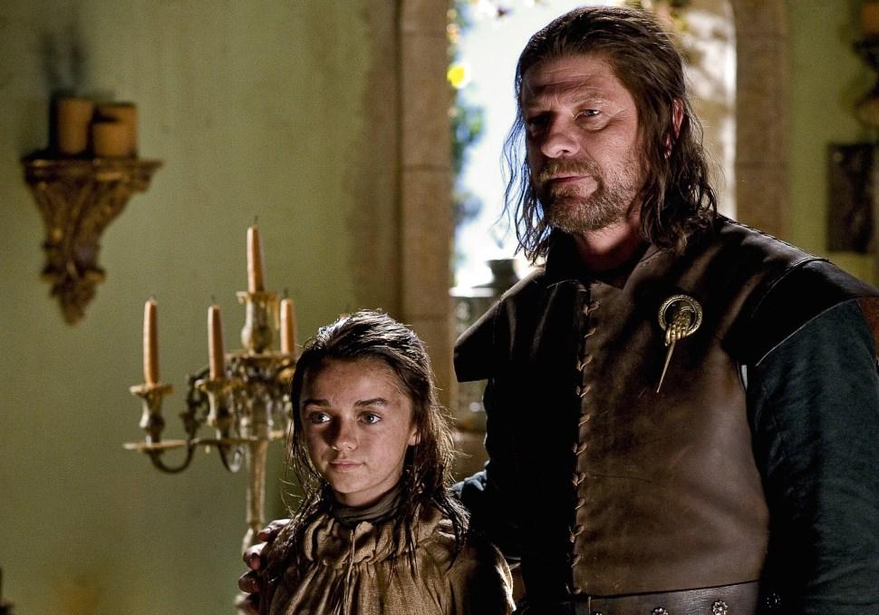 Maisie Williams - Sean Bean - Game of Thrones.jpeg