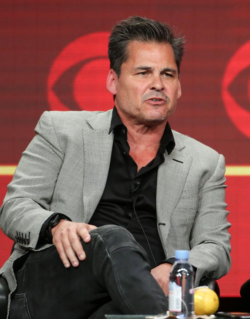 Mandatory Credit: Photo by Buchan/Variety/REX/Shutterstock (5827172q) Peter Lenkov CBS 'MacGyver' Panel at the TCA Summer Press Tour, Day 14, Los Angeles, USA - 10 Aug 2016