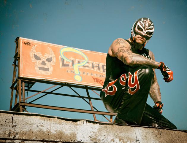 Lucha Underground Star Rey Mysterio Inks First Look Deal With El Deadline