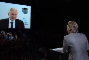 Screen shot 2 Maher/Assange