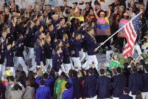 Rio 2016 Olympic Games, Opening Ceremony, Olympic Stadium, Brazil - 05 Aug 2016