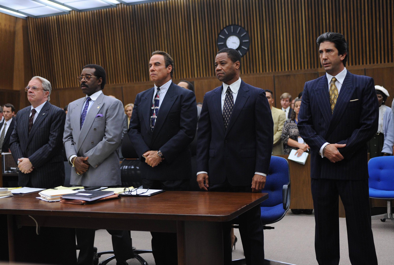 Nathan Lane - Courtney B. Vance - John Travolta - Cuba Gooding Jr. - David Schwimmer - The People v. O.J. Simpson.jpeg