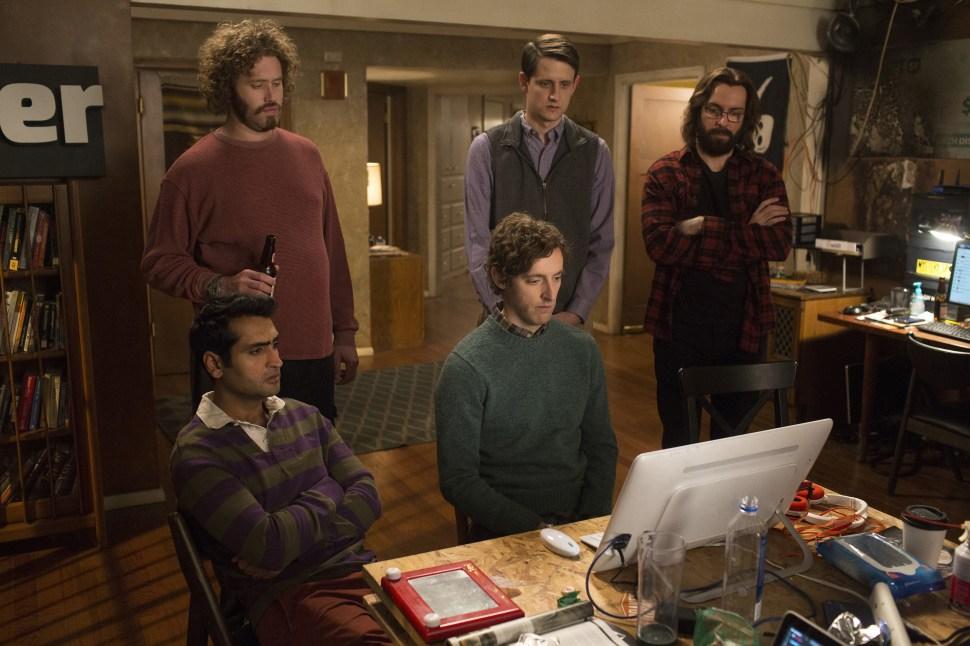 Kumail Nanjiani - T.J. Miller - Thomas Middleditch - Zach Woods - Martin Starr - Silicon Valley.jpeg
