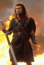 No Merchandising. Editorial Use Only. No Book Cover Usage. Mandatory Credit: Photo by Moviestore/REX/Shutterstock (1547379a) Braveheart, Mel Gibson Film and Television