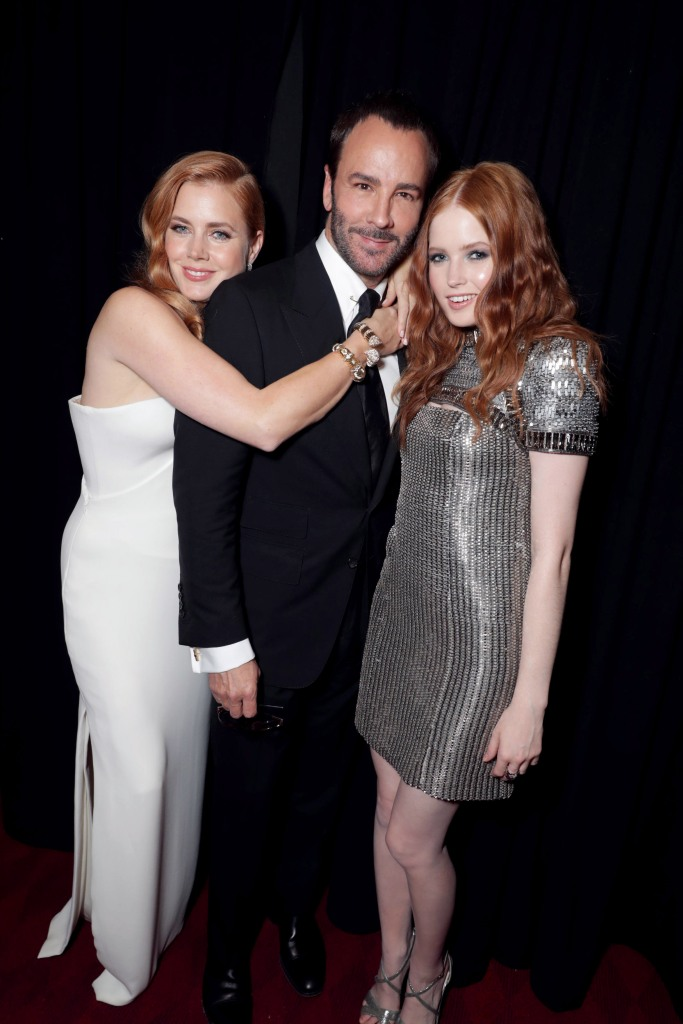 Amy Adams, Tom Ford, Ellie Bamber