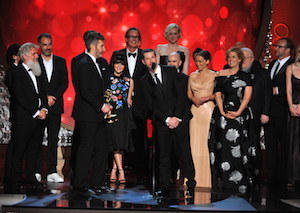D.B Weiss Game of Thrones cast & crew Emmys 2016