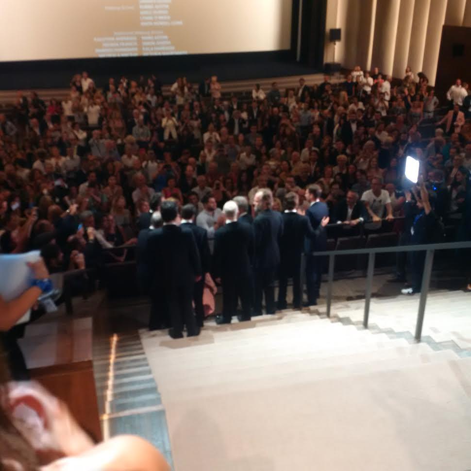 hacksaw standing o crowd premiere