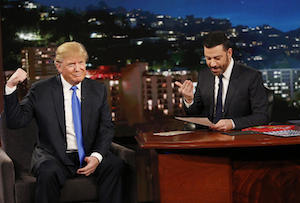 DONALD TRUMP, JIMMY KIMMEL