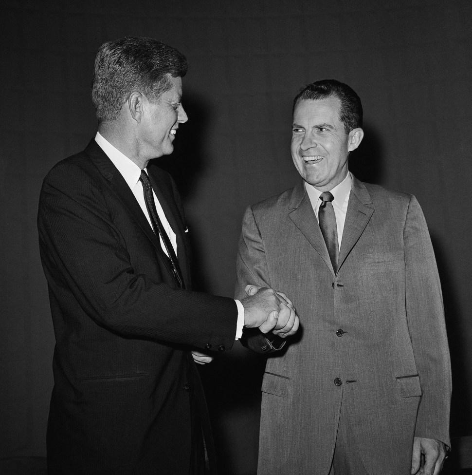 Richard Nixon, John F. Kennedy