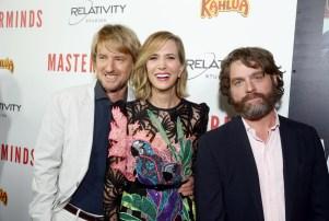 Owen Wilson, Kristen Wiig, Zach Galifianakis