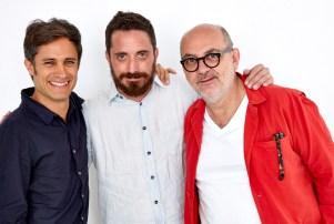 Gael Garcia Bernal, Pablo Larrain, Luis Gnecco