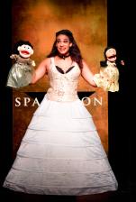 """Nora Schell in """"Spamilton."""""""
