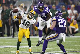 Sunday Night Football Sept 18, 2016 Minnesota Vikings Green Bay Packers
