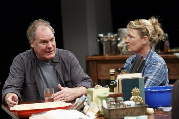 """Jay O.Sanders and Jane Hawley in """"What Did You Expect?"""""""