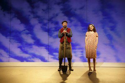 Benjamin Thys and Rachel Weisz in 'Plenty,' at the Public Theater.