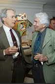 Clint Eastwood with Gordon Davidson in 2003.