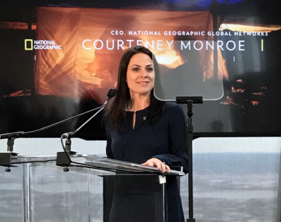 Courteney Monroe, CEO National Geographic Global Television