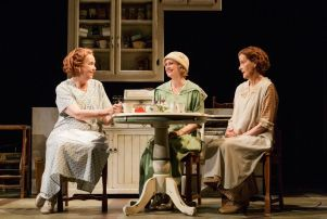 Harriet Harris, Rebecca Brooksher and Hallie Foote in 'The Roads To Home.'