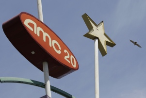 Mandatory Credit: Photo by Paul Sakuma/AP/REX/Shutterstock (6243004a) Exterior view of AMC movie theaters in Santa Clara, Calif., . A Chinese conglomerate announced Monday it will buy a major U.S. cinema chain, AMC Entertainment Holdings, for $2.6 billion in China's biggest corporate takeover in the United States to date. AMC operates 346 cinemas, mostly in the United States and Canada, and says it has 23 of the 50 highest-grossing U.S. outlets China US Cinema Chain, Santa Clara, USA