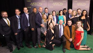 'Arrow' TV series 100th Episode Celebration, Vancouver, Canada - 22 Oct 2016