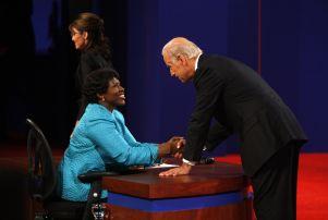 Vice Presidential Debate, St. Louis, USA