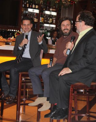 Dave Karger interviews Casey Affleck and Kenneth Lonergan about the film 'Manchester by The Sea.'