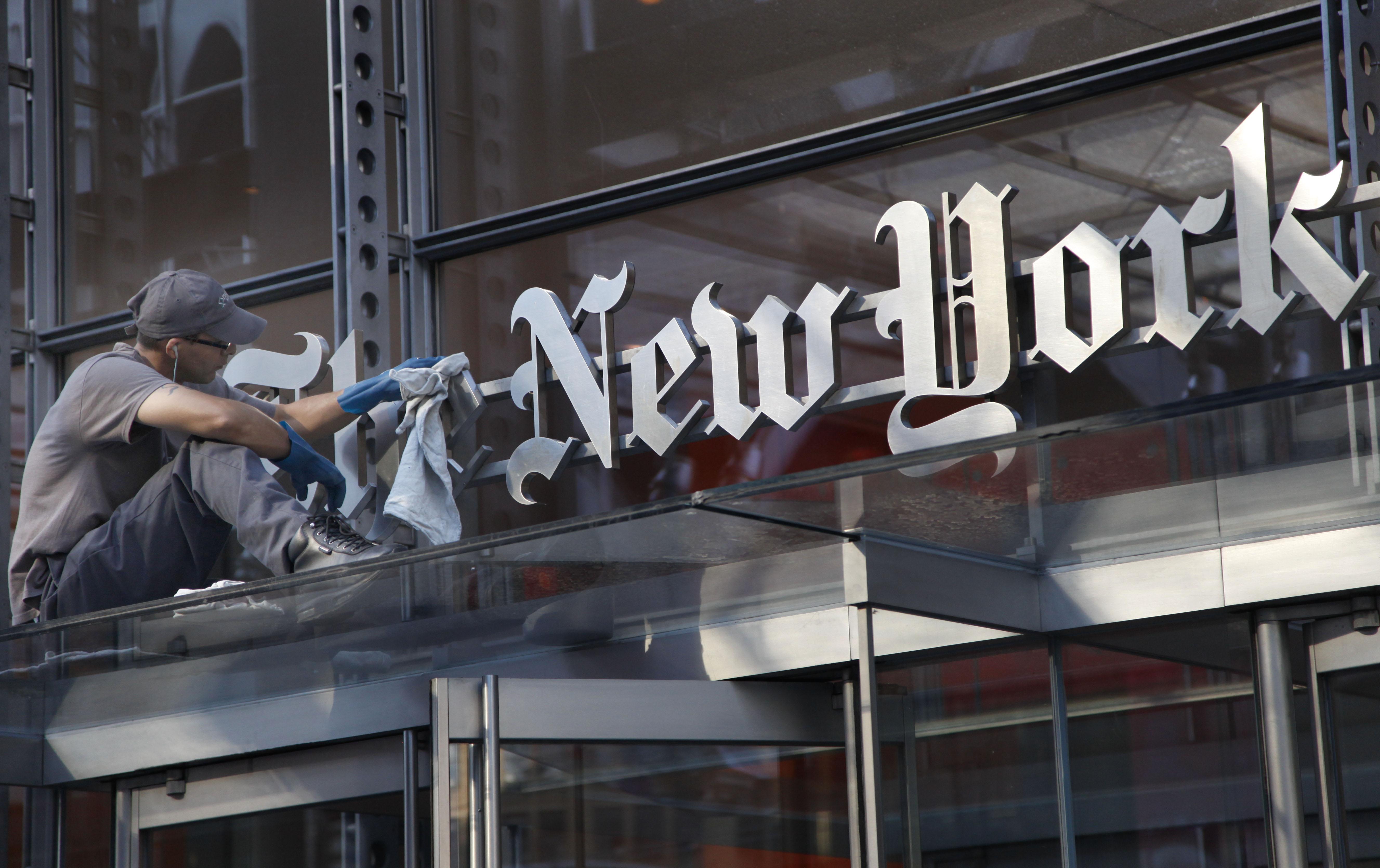 Earns New York Times, New York, USA