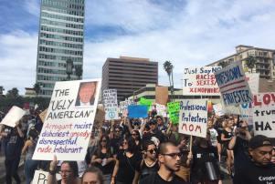 Los Angeles Anti-Trump Protest, November 12