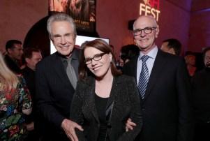 Warren Beatty, Lorraine Feather, Eddie Arkin