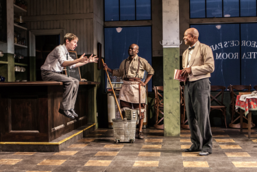 """Noah Robbins, Sahr Ngaujah and Leon Addison Brown in """"'Master Harold' ... And The Boys"""""""