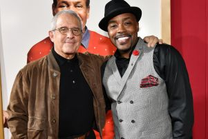 Will Packer, right, with NBC Universal Vice Chairman Ron Meyer.