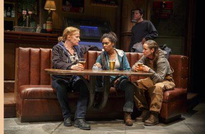 Johanna Day, Michelle Wilson and Miriam Shor in 'Sweat.'