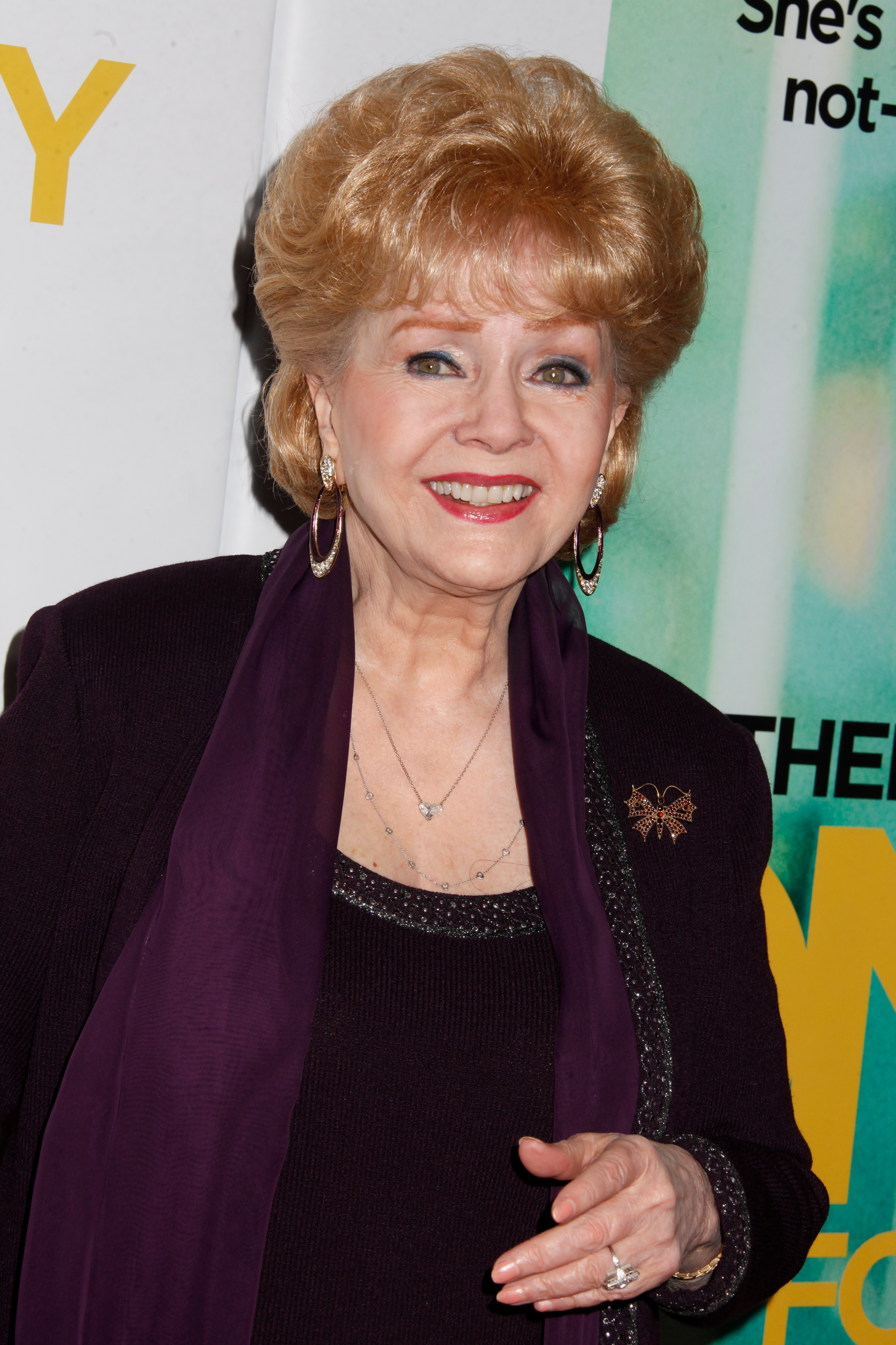 Mandatory Credit: Photo by Gregory Pace/BEI/BEI/Shutterstock (1545236q) Debbie Reynolds 'One For the Money' film screening, New York, America - 24 Jan 2012