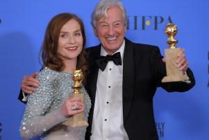 74th Annual Golden Globe Awards, Press Room, Los Angeles, USA - 08 Jan 2017