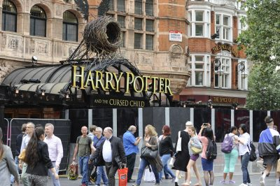 The opening gala of 'Harry Potter and the Cursed Child' in London in July.