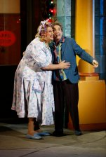 Harvey Fierstein and Martin Short.