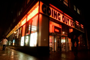 TOWER RECORDS CLOSING
