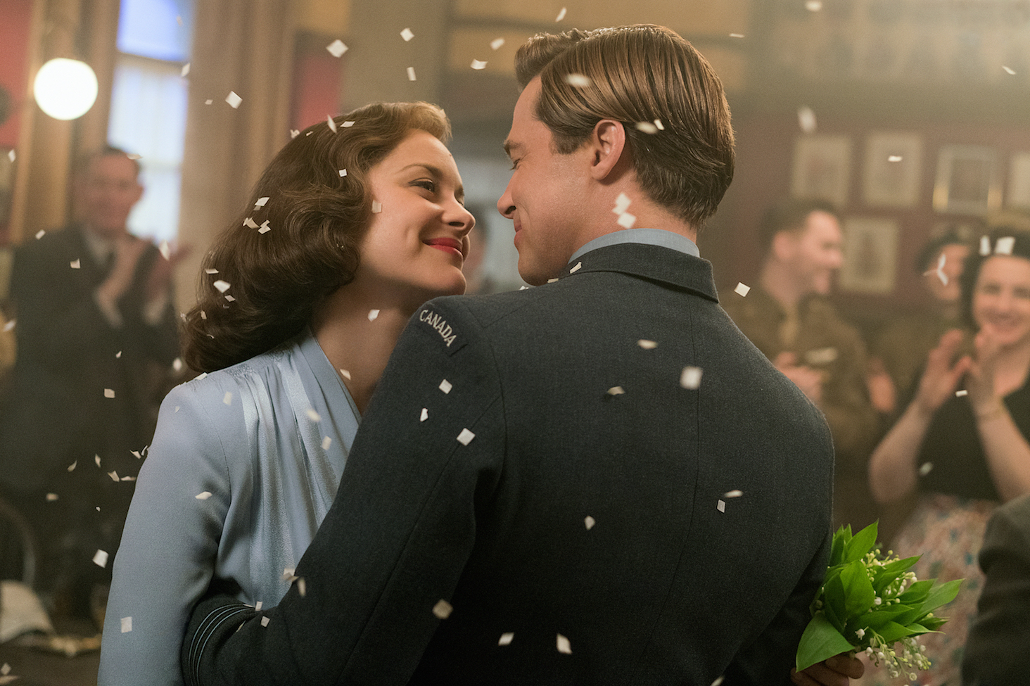 Brad Pitt, Marion Cotillard - Allied.jpeg